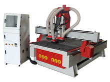 Three Steps Air-cooled Woodworking CNC Router