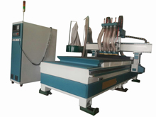 CNC drilling and cutting center